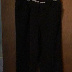 Liz Claiborne black dress pant size 6